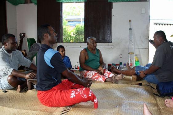 kava ceremony sanasana fiji aavtravel
