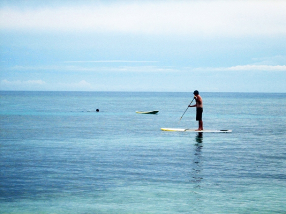 vomo stand-up paddle board, aavtravel