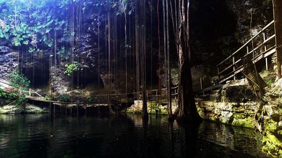 ek balam, cenote, maya