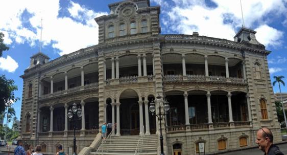 iolani palace, honolulu, royal palace, hawaii, aavtravel