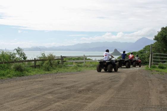 kualoa ranch, atv, hawaii, aavtravel, oahu