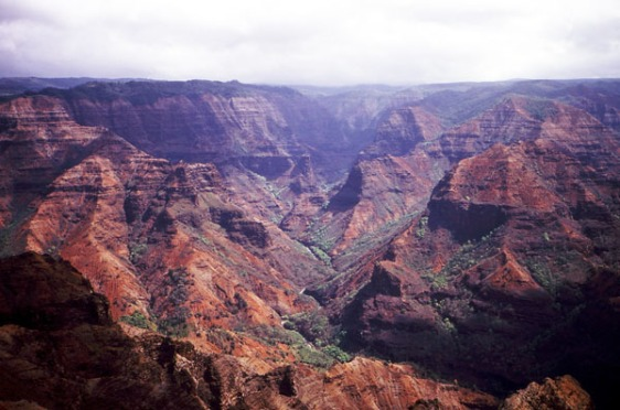 Waimea Canyon, Hawaii, Kauai, aavtravel