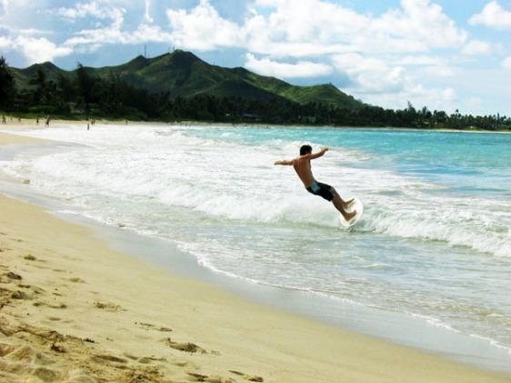 kailua, hawaii, kona, surfing, aavtravel