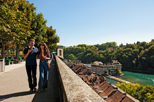 bern, switzerland, muensterplatform, aare, aavtravel