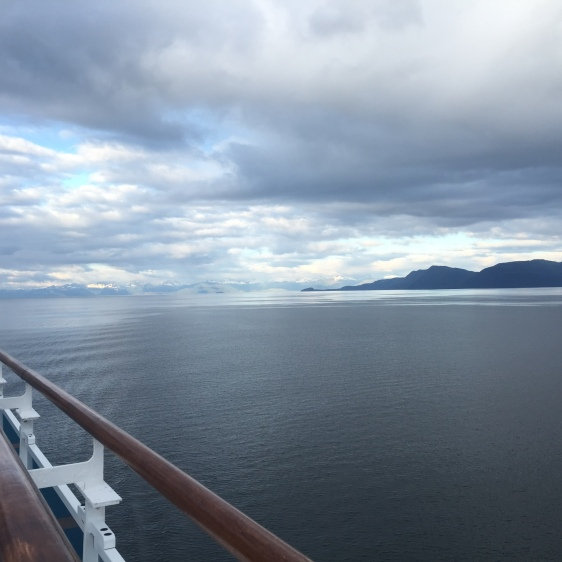 alaska, inside passage, ocean, cruise ship, princess, aavtravel
