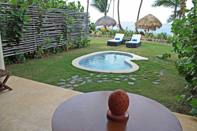 zoetry agua, punta cana, beachfront suite, plunge pool, aavtravel
