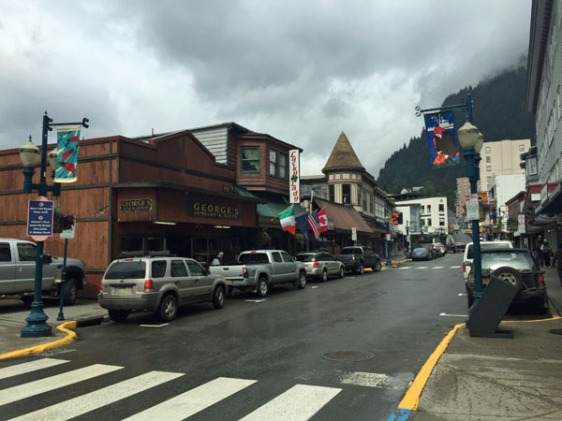 juneau, alaska, downtown, aavtravel