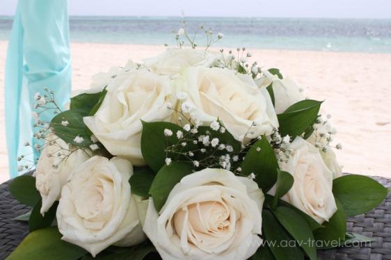 destination wedding, punta cana, dominican republic, secrets, dreams, now, aavtravel, beach wedding, wedding flowers