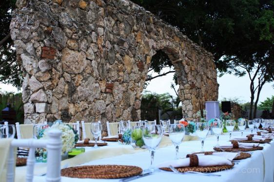 destination wedding, punta cana, dominican republic, la romana, secrets, dreams, now, aavtravel, beach wedding, rehearsal dinner, ruins