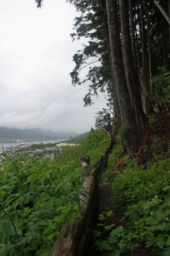 ketchikan, rainbird trail, alaska, hiking