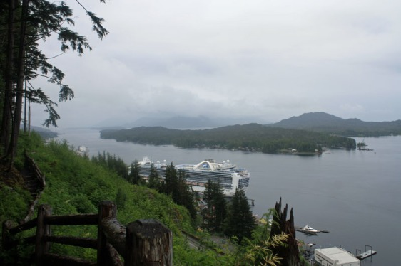 ketchikan, cruise, crown princess, princess cruise, alaska