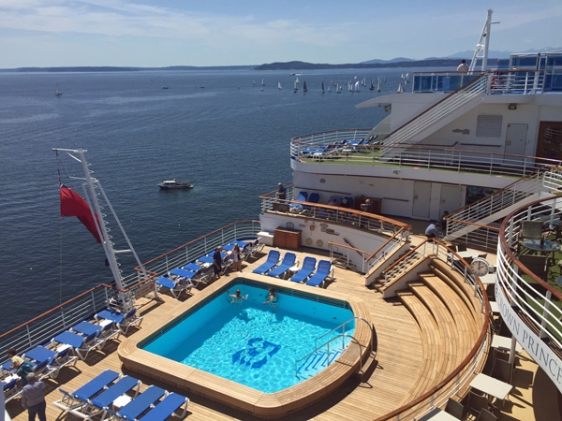 cruise, ship, pool, princess, aavtravel