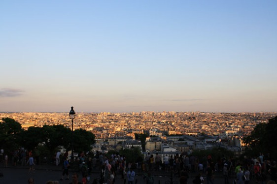 paris, montmartre, view, aavtravel