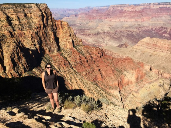 grand canyon, arizona, south rim, aavtravel, stefanie pichonnat