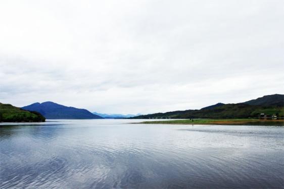 loch alsh, scotland, eilean donan, loch, aavtravel