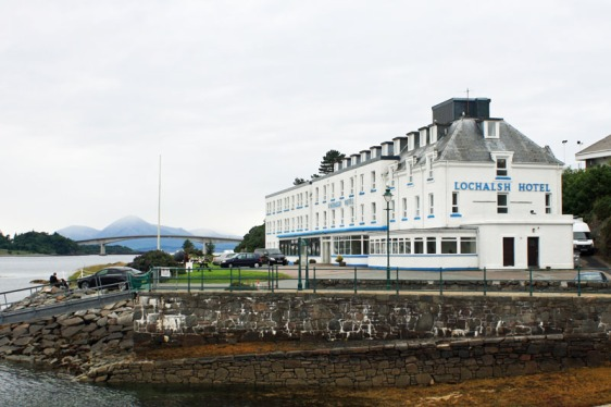 kyle of lochalsh, hotel, scotland, aavtravel