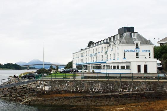 kyle of lochalsh, hotel, scotland, aavtravel